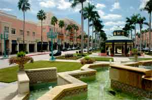 Exclusive shopping and dining in Palm Beach county.