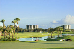 Nothing beats playing on a Florida golf course.
