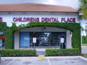 The Children's Dental Place in Boca Raton Florida.